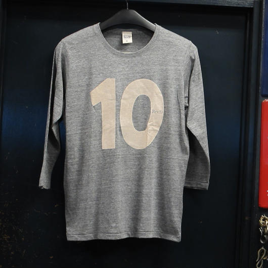 Rew10 No.10 T-shirts  4/5Sleeve