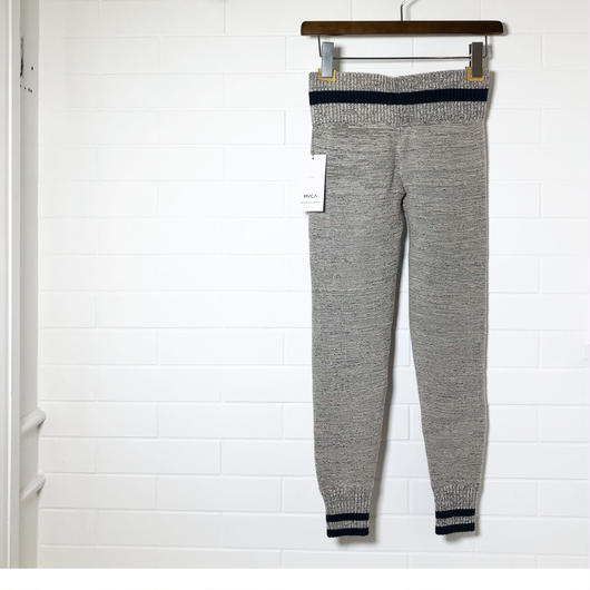 RVCA/women's. cotton knit leggings