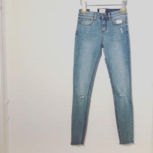 "RVCA/Stretch DENIM"" light blue"""