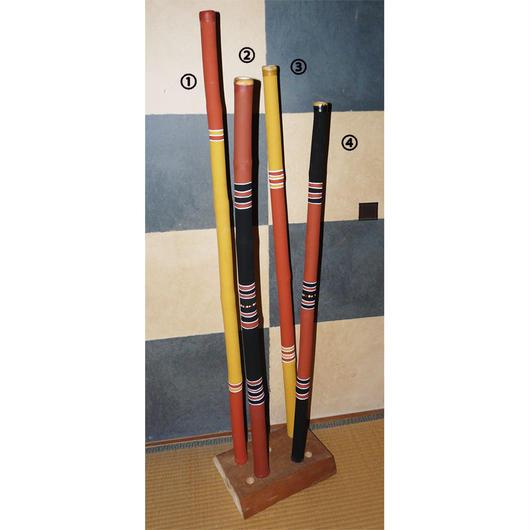 バンブーディジュリドゥ Bamboo Didgeridoo Painted