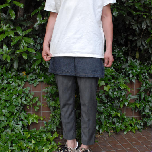 Lil`Tokyo(リルトーキョー)腰巻きデニムスカート