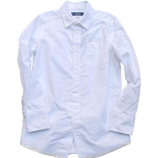 Rhythmor(リズモア)オックス刺繍シャツ WHITE