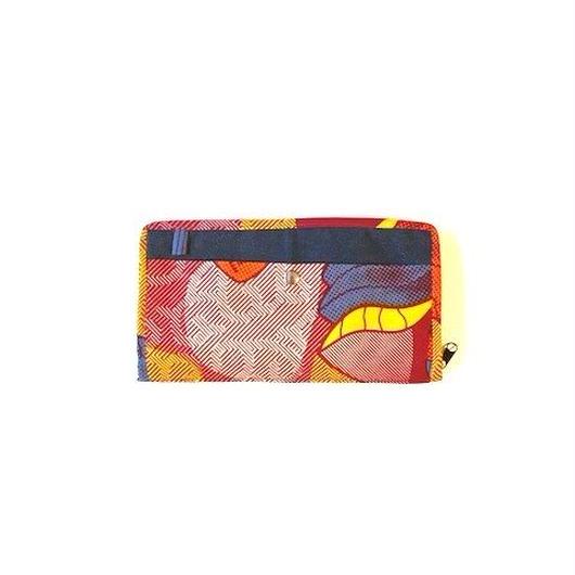 Passport Case -赤い幾何学 -