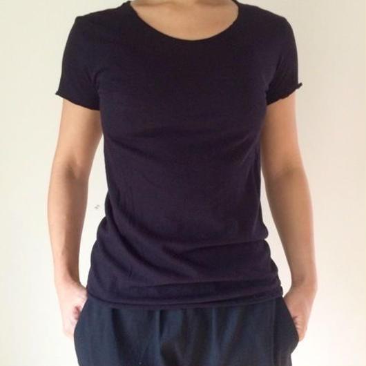 ケイト半袖Tシャツ ネイビー