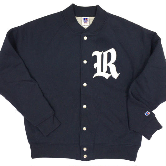 "RUSSELL  ""PRO COTTON"" STADIUM JACKET [NAVY] RC-17FW705"