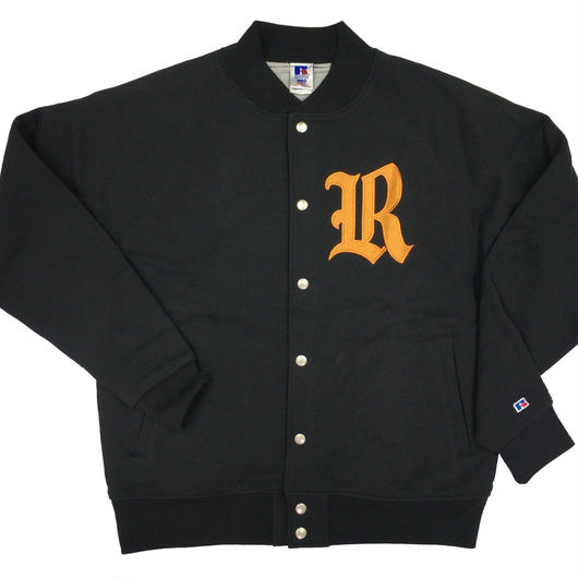 "RUSSELL  ""PRO COTTON"" STADIUM JACKET [BLACK] RC-17FW705"