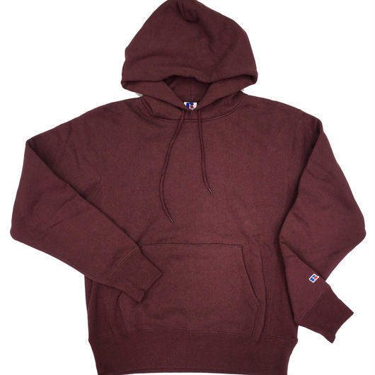 "RUSSELL ""PRO COTTON"" PULLOVER HOODIE  [BURGUNDY]  RC-17FW702"