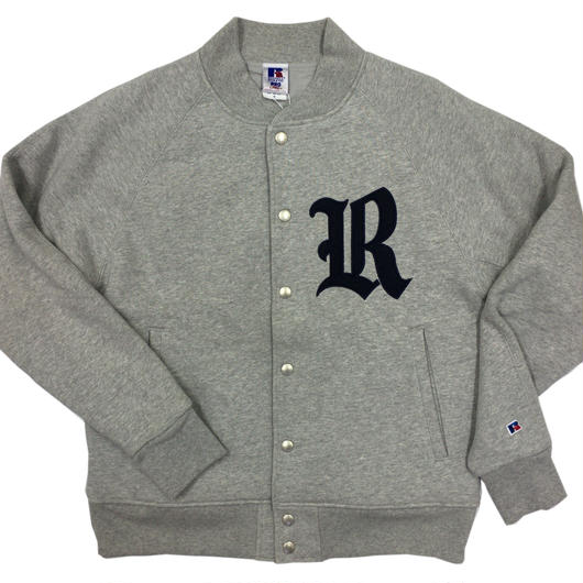 "RUSSELL  ""PRO COTTON"" STADIUM JACKET [H.GRAY] RC-17FW705"