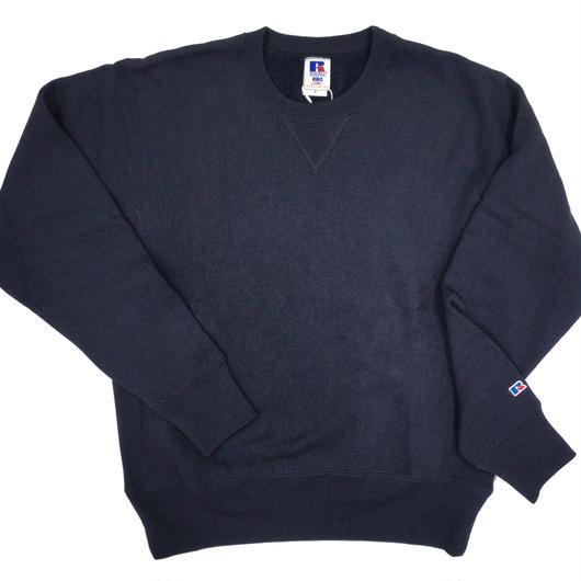 "RUSSELL ""PRO COTTON"" CREW NECK SHIRTS [NAVY]  RC-17FW703"