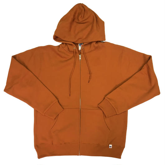 "RUSSELL ""NU BLEND"" ZIP UP HOODIE [APRICOT]  RC-17FW711"