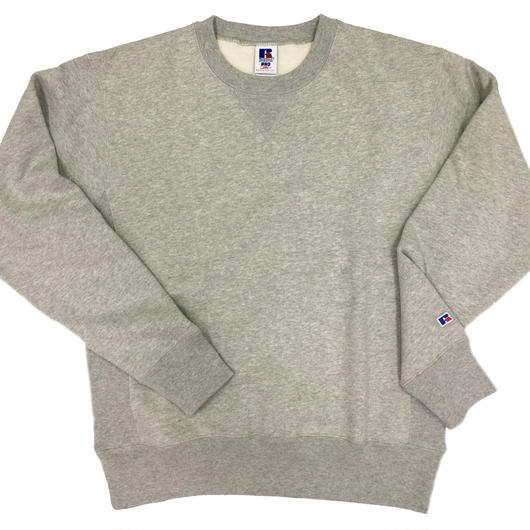 "RUSSELL ""PRO COTTON"" CREW NECK SHIRTS [H.GRAY]  RC-17FW703"