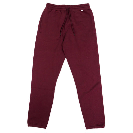 "RUSSELL ""NU BLEND"" SWEAT PANTS  [BURGUNDY]  RC-17FW714"