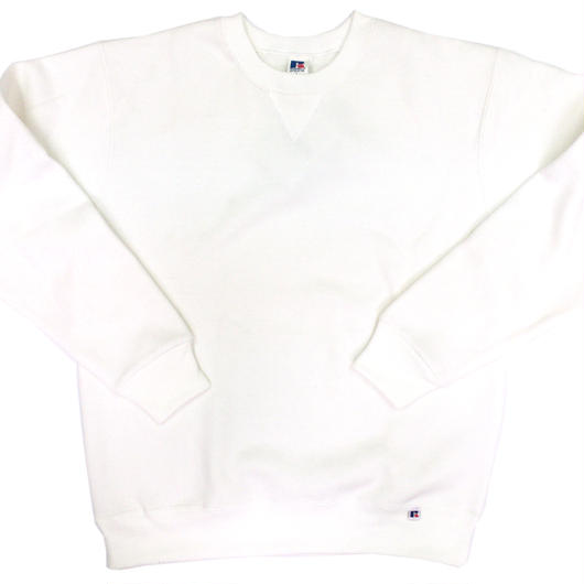 """RUSSELL """"NU BLEND"""" CREW NECK SHIRT [OFF WHITE]  RC-17FW713"""