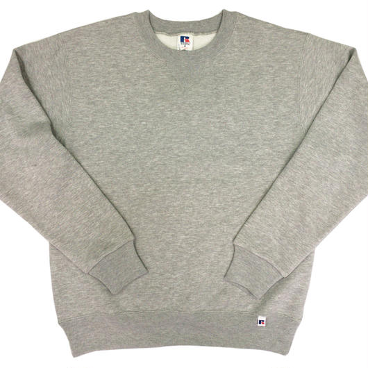 """RUSSELL """"NU BLEND"""" CREW NECK SHIRT [H.GRAY]  RC-17FW713"""