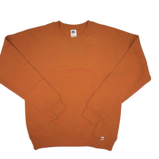 """RUSSELL """"NU BLEND"""" CREW NECK SHIRT [APRICOT]  RC-17FW713"""