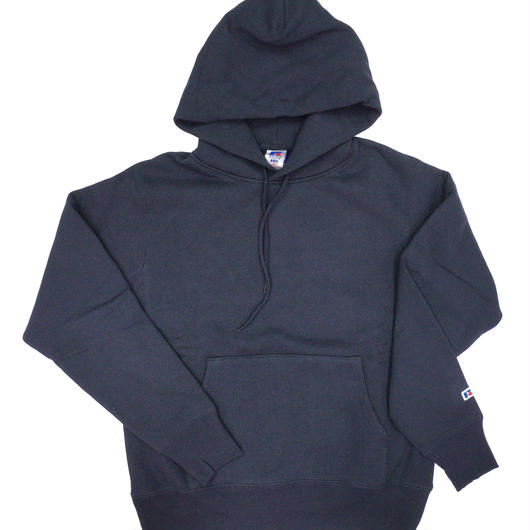 "RUSSELL ""PRO COTTON"" PULLOVER HOODIE  [NAVY]  RC-17FW702"
