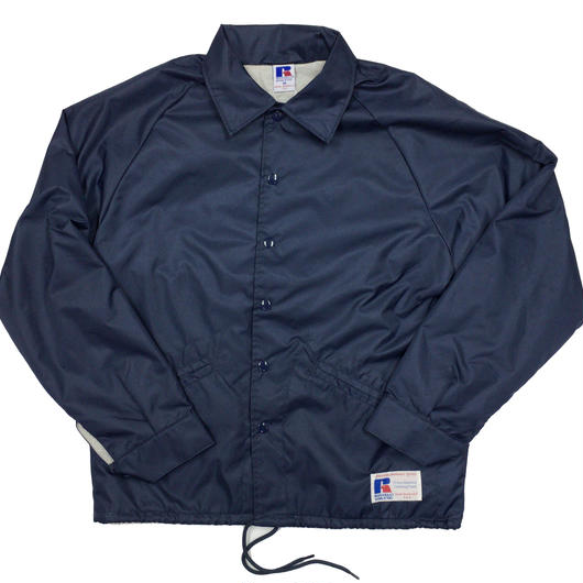 "RUSSELL ""GAME JACKET"" COACH JACKET  [NAVY]  RC-17FW738"