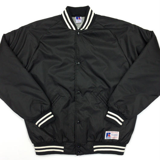 "RUSSELL ""GAME JACKET"" STADIUM JACKET  [BLACK]  RC-17FW737"