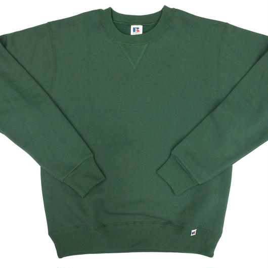 """RUSSELL """"NU BLEND"""" CREW NECK SHIRT [FOREST]  RC-17FW713"""
