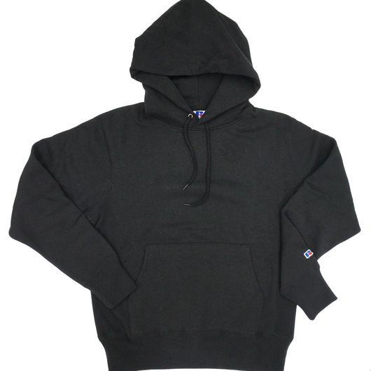 "RUSSELL ""PRO COTTON"" PULLOVER HOODIE  [BLACK]  RC-17FW702"