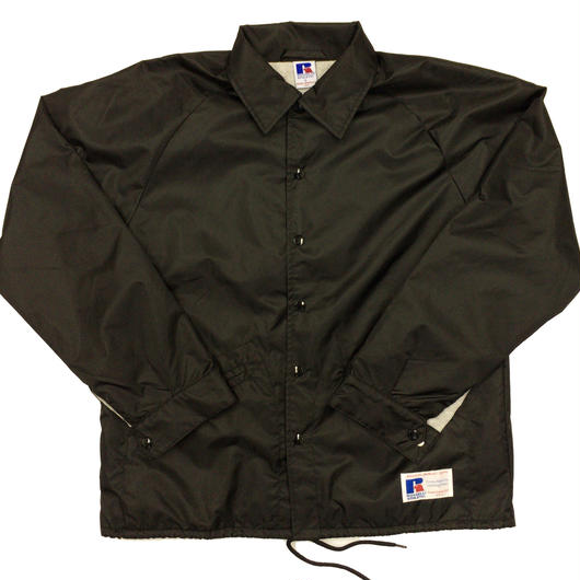 "RUSSELL ""GAME JACKET"" COACH JACKET  [BLACK]  RC-17FW738"