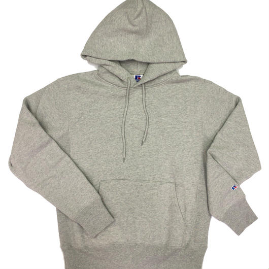 "RUSSELL ""PRO COTTON"" PULLOVER HOODIE [H.GRAY]  RC-17FW702"