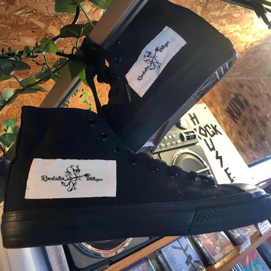 Rockstar Village Logo Highcut Sneaker
