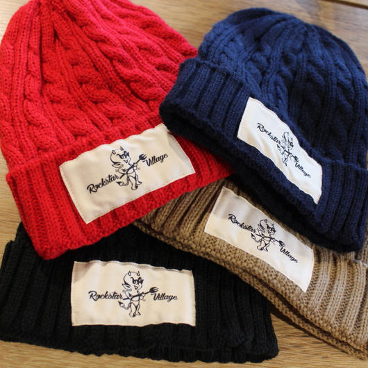 Rockstar Village Knit Cap