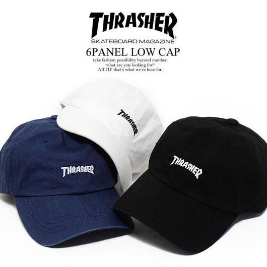 THRASHER 6PANEL LOW CAP
