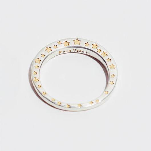 RSW SIDE STAR RING (SILVER)
