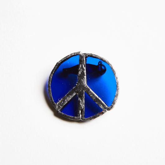 RSW PEACE STAIND BROOCH