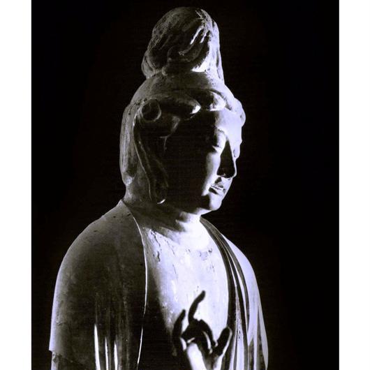 ハイブリッド仏像ポスター「秋篠寺伎芸天」(半身)全紙サイズ