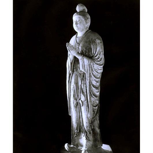 ハイブリッド仏像ポスター「東大寺月光菩薩」(全身)全紙サイズ