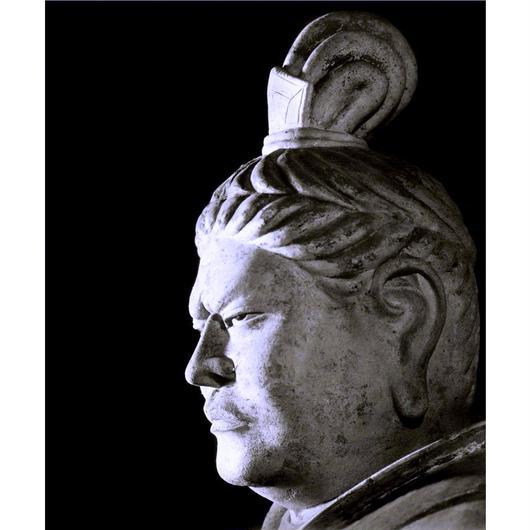 ハイブリッド仏像ポスター「東大寺戒壇堂四天王広目天」(御顔)全紙サイズ