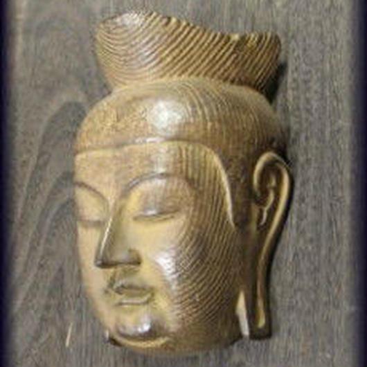 中の坊中坊竜堂作古楽面「広隆寺弥勒菩薩」