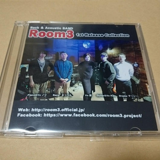 Room3 1st Release Collection CD