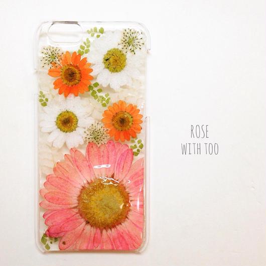 Phone6用 フラワーアートケース 押し花デザイン1221_3