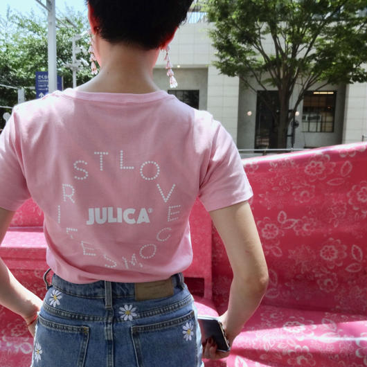 JULICA | DOT LOVECOMESFIRST T-SHIRT