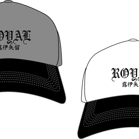 漢字キャップ(白、グレー)