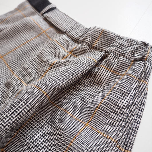 "Graphpaper ""Glen Check Wide Cook Pants"" women"