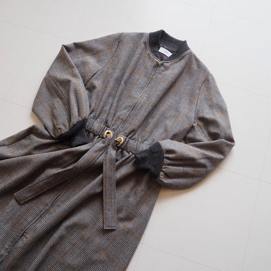 "Graphpaper ""Glencheck Belted Long Coat""  women"