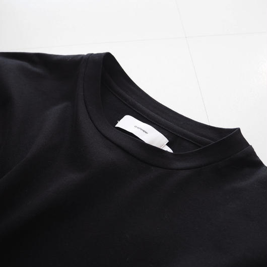 "Graphpaper ""Fine Jersey L/S Shirt"" Black women's"