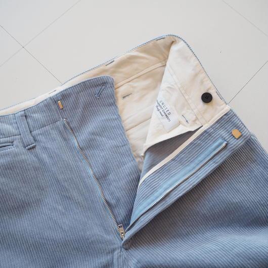 "UNUSED ""UW0706 corduroy pants."" sax unisex"