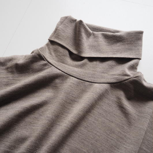 "Graphpaper ""Washable Wool High Neck Tee""  Grage unisex"