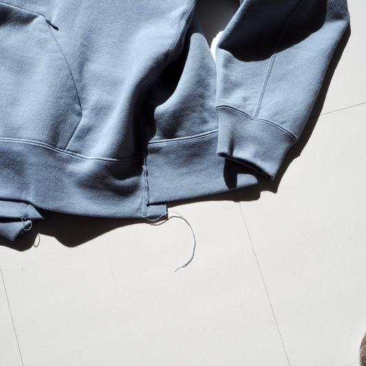 """UNUSED """"US1494 Sweat Hoodie. """" gray blue women"""
