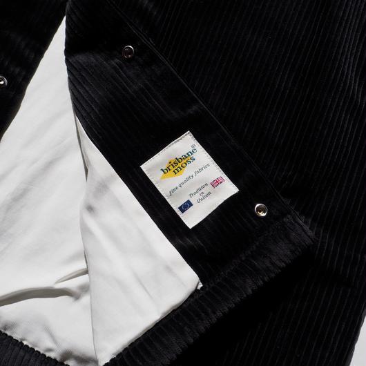 "Graphpaper ""Brisbane Moss Coach Jacket""  Black"