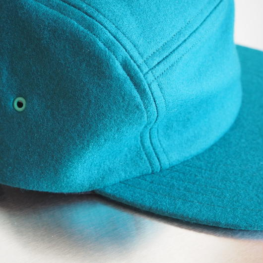 "COMESANDGOES  ""COMPRESSION WOOL JET CAP"" Green"