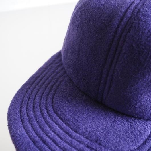 "UNUSED ""UH0474 fleece cap."" purple"