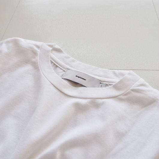 "Graphpaper ""Fine Jersey L/S Shirt"" White women's"