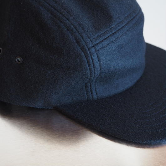 "COMESANDGOES  ""COMPRESSION WOOL JET CAP"" Black"